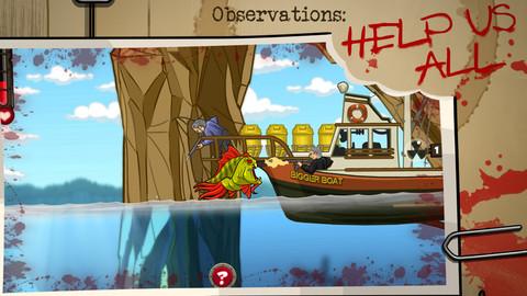 Zombie Fish Man Gratis Spel