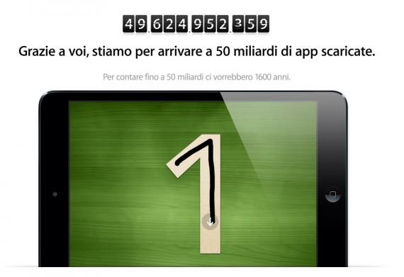 app store 50 miliardi