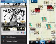 Shazam: arriva il riconoscimento automatico e l'integrazione con WhatsApp e Pinterest