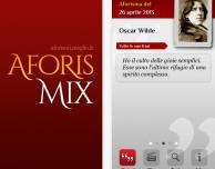AforisMix: più di 40.000 citazioni e aforismi a portata di iPhone