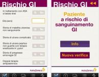 Calcolatore del Rischio Gastrointestinale disponibile su App Store