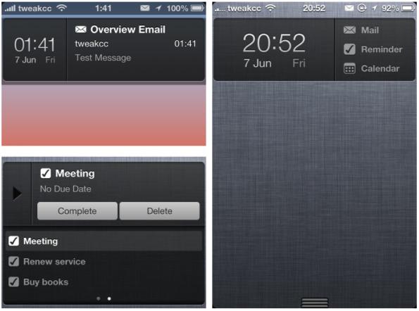 eventi trovati in mail in iphone