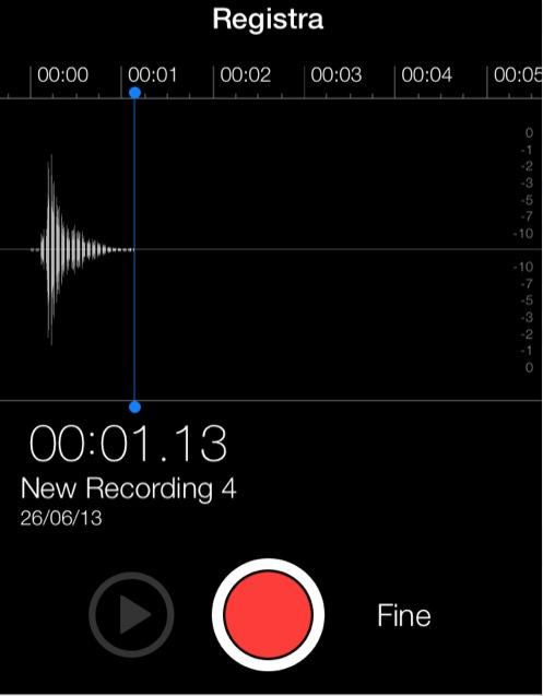 iphone memo vocali