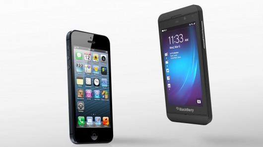 blackberry-z10-vs-iphone-5