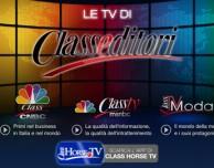 Le TV di Class Editori le guardi su iPhone