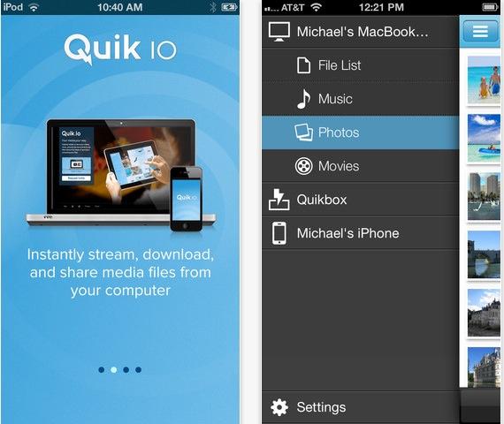 QuikIO iPhone pic0