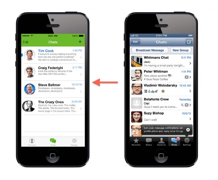 L'App Store dopo iOS 7: ecco come potrebbero cambiare le app più famose per iPhone [SCREENSHOTS]