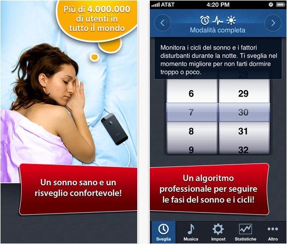 Sveglia intelligente l 39 iphone per dormire meglio for Cuffie insonorizzanti per dormire
