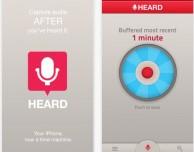 Heard trasforma l'iPhone in una macchina del tempo che registra l'audio…