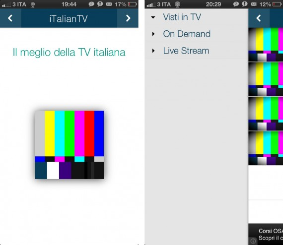 iTalian-TV: Film integrali, news, tv show, sport, anime giapponesi e