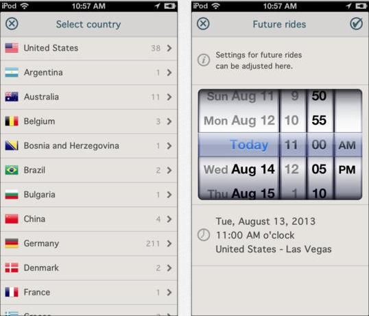 Taxometer iPhone pic1