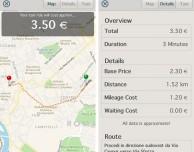 Calcolare le tariffe del taxi con Taxometer
