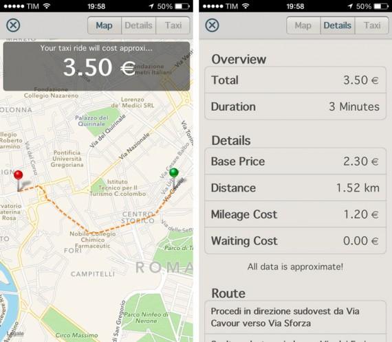 Taxometer iPhone pic0