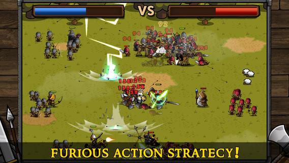 Mini Warriors, domina il territorio con il tuo esercito