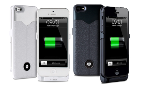 custodia iphone 5s con batteria