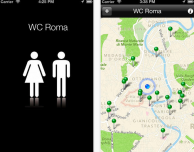 WC Roma: l'app che trova i bagni pubblici nella capitale