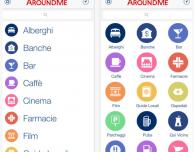 AroundMe si aggiorna: arriva una nuova grafica in stile iOS 7