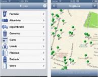 DoveSiButta, l'app che ti informa sui cassonetti della raccolta differenziata