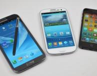 iPhone vs Galaxy Note: in Italia i cali di prezzo più vistosi d'Europa
