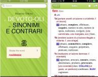 Il Devoto-Oli dei Sinonimi e Contrari arriva su iPhone
