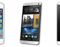 iPhone 5s contro Note 3, Galaxy S4, LG G2 e HTC One: chi ha lo schermo migliore?