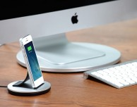 AluBolt di Just Mobile: bellissima dockingstation con presa lightning