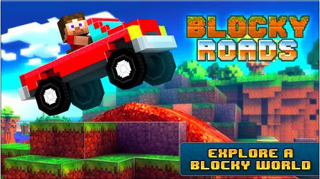 Blocky Road iPhone 1