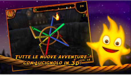 Burn the rope 3d iphone - 1