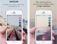 baseCam: foto e video con filtri in tempo reale