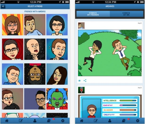 Bitstrips iPhone pic0