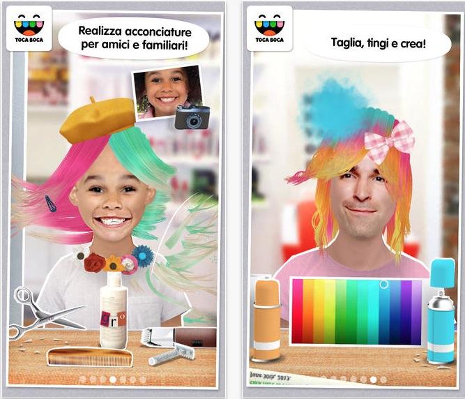 Toca hair salon me il salone di parrucchiere sul tuo for Toca hair salon me