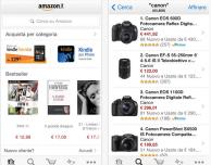 Amazon aggiorna la sua app con una nuova grafica