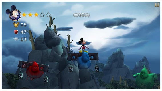 castle of illusion mickey mouse screenshot 1