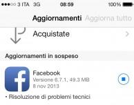 Facebook per iPhone si aggiorna nuovamente: corretti i problemi di crash, ma… [AGGIORNATO]