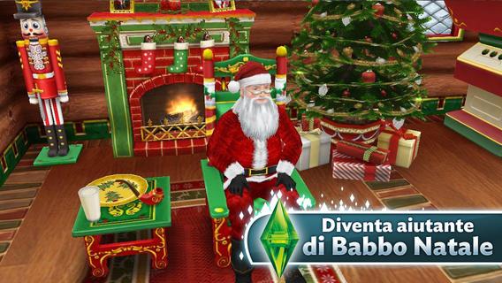 Albero Di Natale The Sims 3.Arrivano Le Festivita Natalizie Su The Sims Gratis Iphone Italia