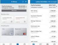 PayPal per iPhone si aggiorna: arriva la grafica in stile iOS 7
