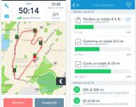 RunKeeper per iPhone si aggiorna con il rilevamento in background delle passeggiate