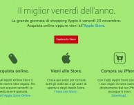 La grande giornata dello shopping Apple è confermata anche in Italia