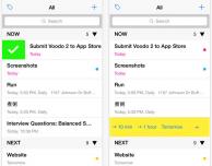 Voodo 2, un pratico task manager per iPhone