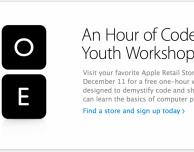 Un'ora di corso dev offerto da Apple, solo negli USA