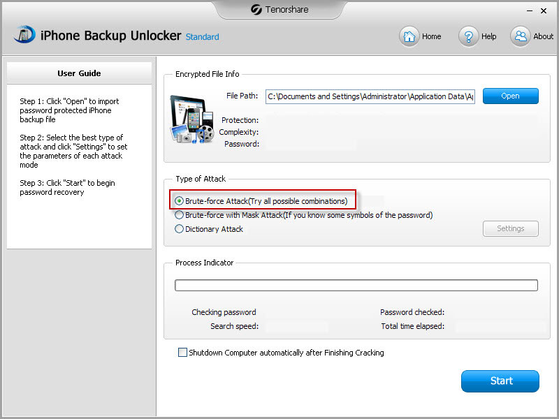 how to get my ihpne 6 to backup