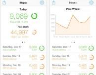 Steps+: un ottimo conta passi gratuito per iPhone