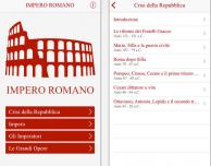 Impero Romano: la storia di Roma in un'app