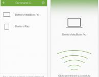 Command-C: l'app che consente di condividere in background contenuti testuali e non solo tra iPhone e Mac