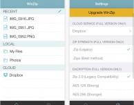 WinZip si aggiorna: arriva la grafica di iOS 7