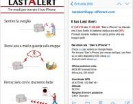 Last Alert Pro, l'app per ritrovare l'iPhone e sapere quando la batteria sta per scaricarsi