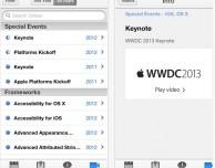 L'app WWDC 2013 di Apple si aggiorna