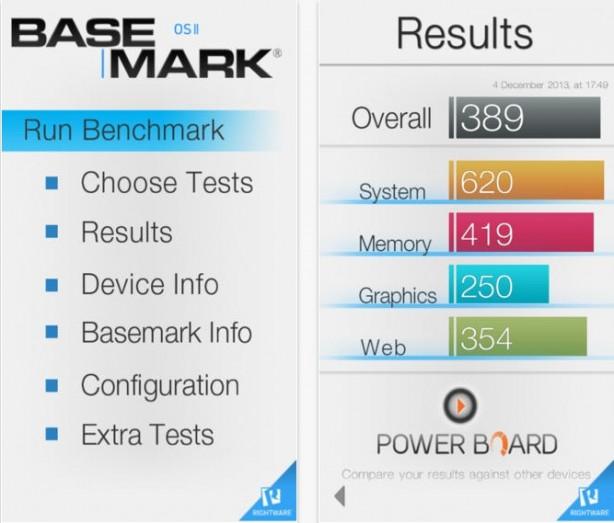 Basemark OS II iPhone pic0