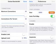 Scarica file torrent da iPhone con iTransmission 4 – Cydia