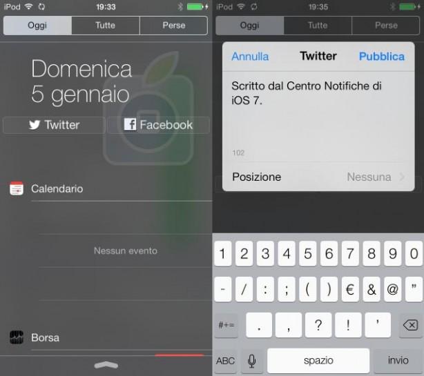 Share Widget iOS 7